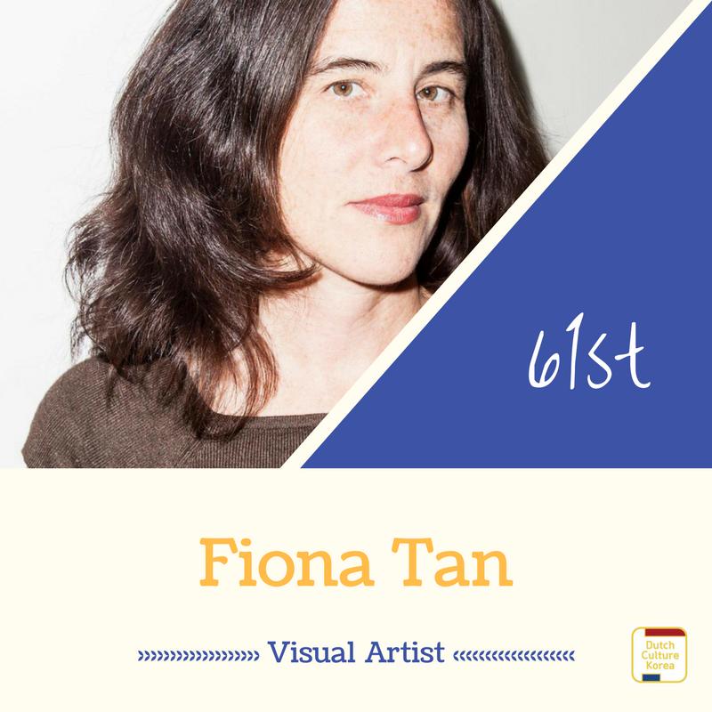 NRC Culture top100 61위를 차지한 시각 예술가 피오나 탄(Fiona Tan)