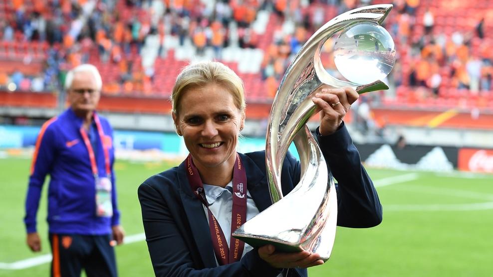 Sarina Wiegman in UEFA