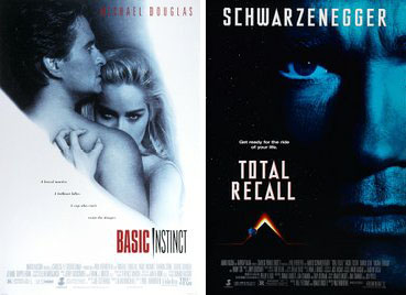 total recall, basic instinct