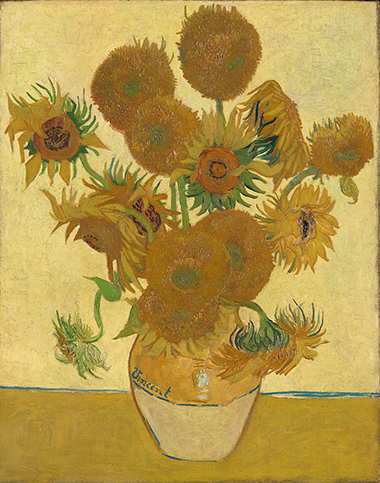 Vincent van Gogh, 1853 - 1890 Sunflowers