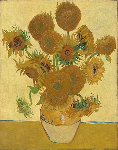Vincent van Gogh, 1853 - 1890 Sunflowers
