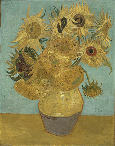 philamuseum, Van Gogh, Sunflowers