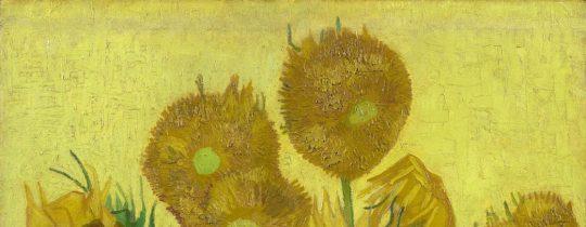 van gogh museum, Sunflowers