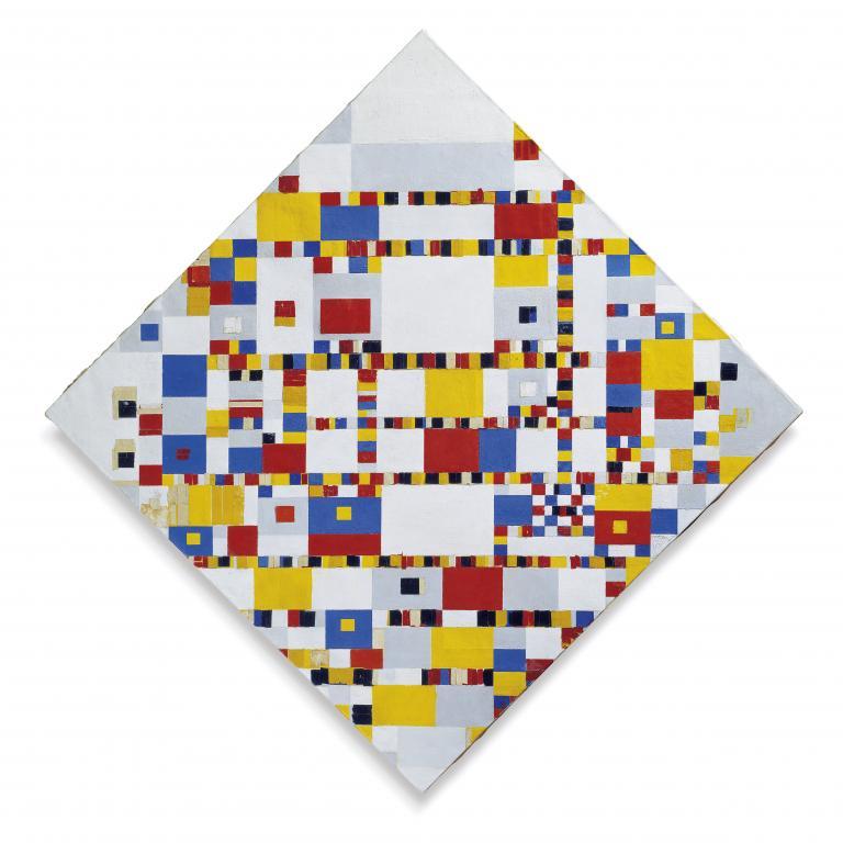 Piet Mondriaan _ victory boogie woogie