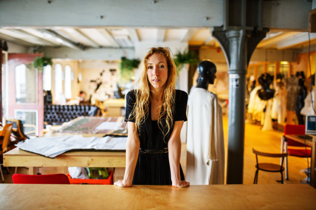 Iris Van Herpen at her Studio in Amsterdam, 2013