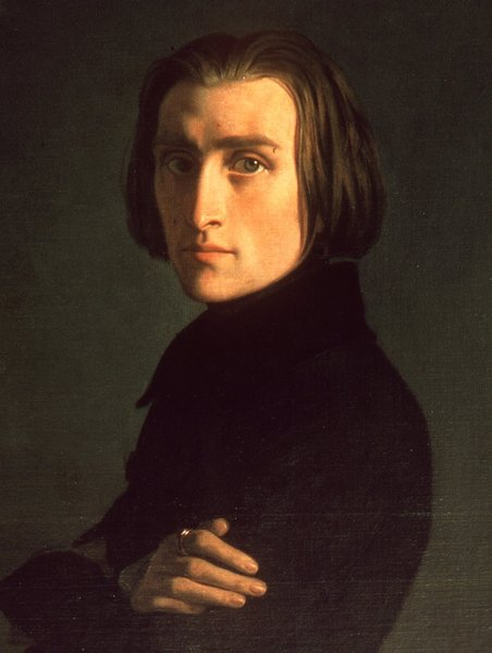 Pianist Franz Liszt