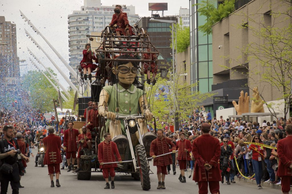 The Giants of Royal De Luxe