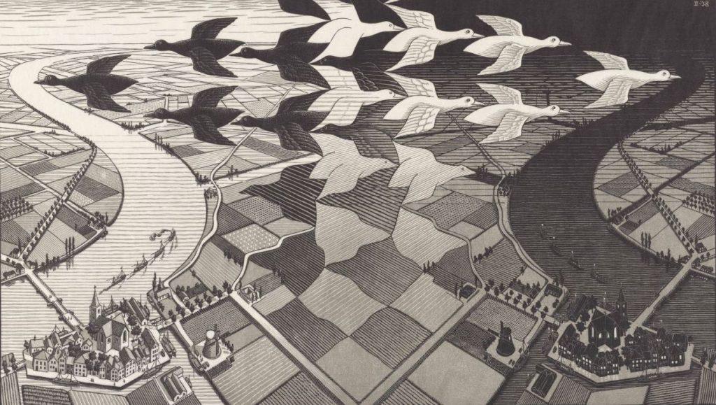the M.C. Escher