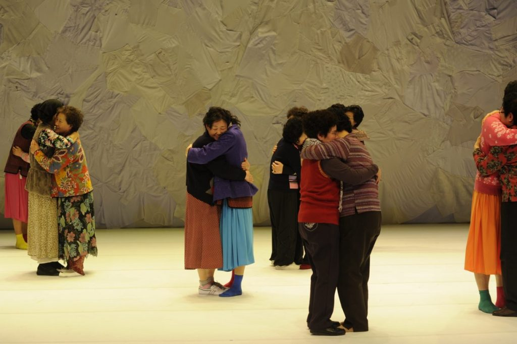 dancing grandmothers