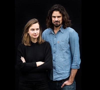 Studio Drift founders: Lonneke Gordijn & Ralph Nauta_photo by J.W. Kaldenbach / Dutch Design Week